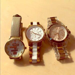 Micheal Kors & Kate spade watch
